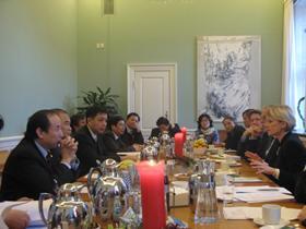 Vietnamese Delegation Study Visit, Copenhagen, Denmark, December 2010