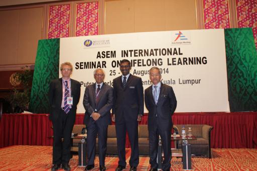 ASEM International Seminar on Lifelong Learning, Kuala Lumpur, Malaysia, August 2014
