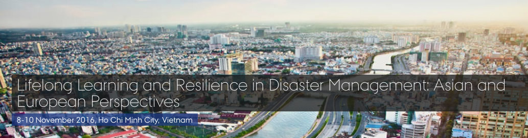 ASEM LLL Hub Conference: Lifelong Learning and Resilience in Disaster Management
